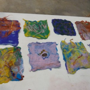 preschool felting projects