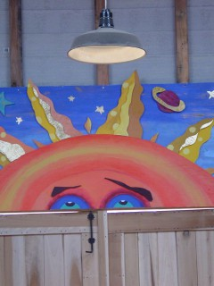 Mural in the Barn
