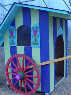 The Gypsy Caravan House