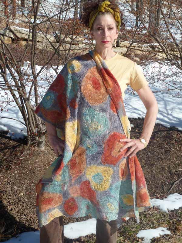 circles shawl