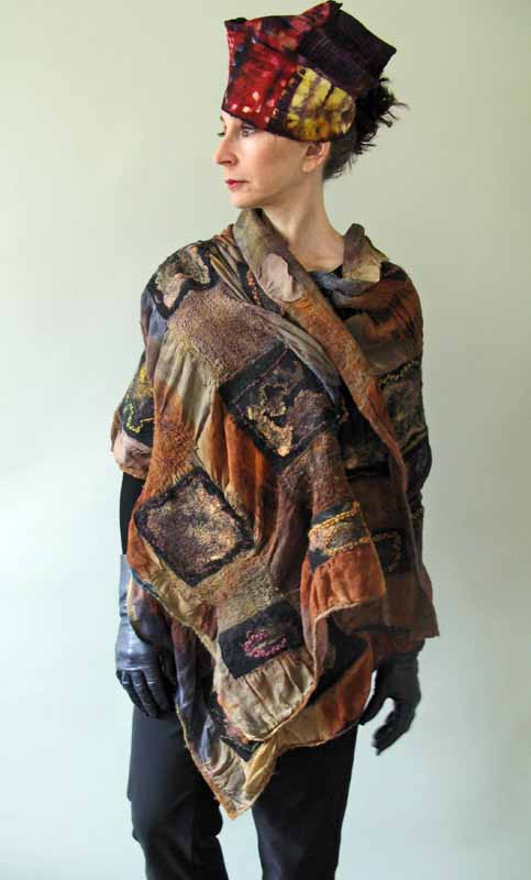 original squares shawl