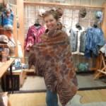 giraffe shawl at 300 height