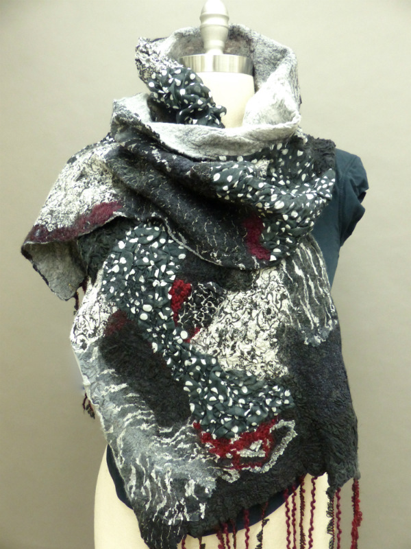 reginas scarf tied nicely