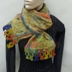 monoprint scarf