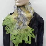 oak leaf scarf