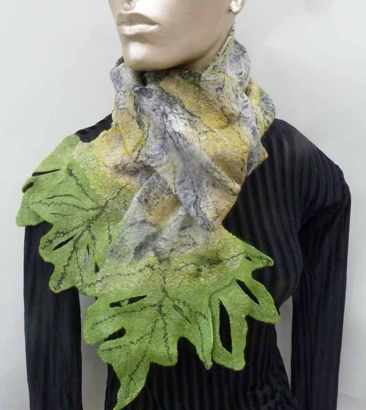 oak leaf scarf