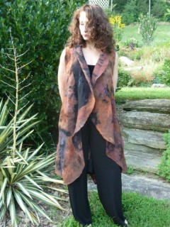 Black and Rust Tunic