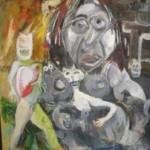 oil painting surreal original