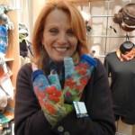 Jana with felt hand warmers