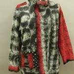 Sylvia's nuno felted jacket